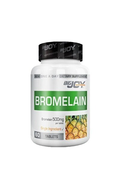 Big Joy Bigjoy Vitamins Bromelain 60 Tablet Skt:10/2021