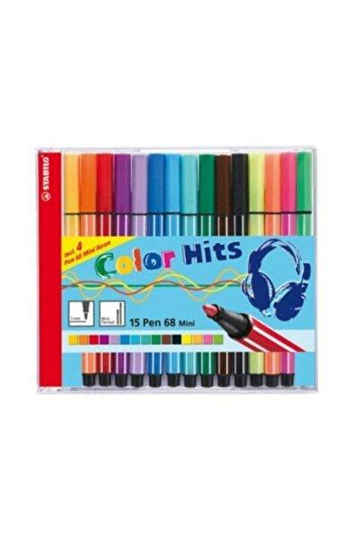 Stabilo Pen 15 Renk 68 Mini