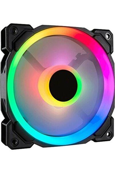 OEM Pl-9906 12cm Kasa Içi Rgb Işıklı Fan