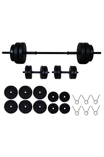 Aydın Sport 45 kg Halter Seti Ve Dambıl Seti