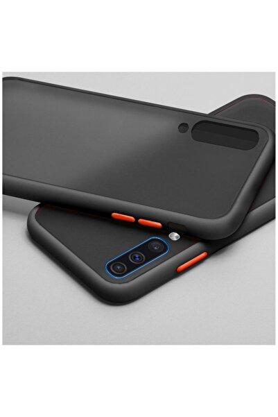 Dara Aksesuar Samsung Galaxy A50 Uyumlu Siyah Silikon Kenar Telefon Kılıfı