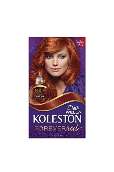 Koleston 6/4 Kızıl Bakır Set Saç Boyası Özel Kızıllar Serisi