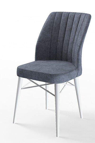 Canisa Concept Flex Serisi Füme Renk/gürgen Ayaklı 1.sınıf Sandalye / Beyaz Gürgen Ayaklı