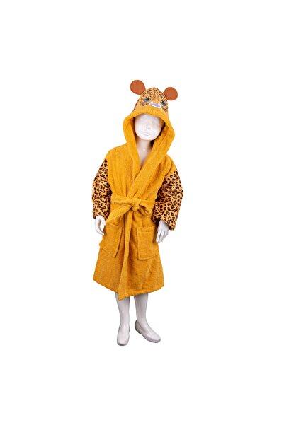 Minteks Safari Çocuk Bornozu - Leopar