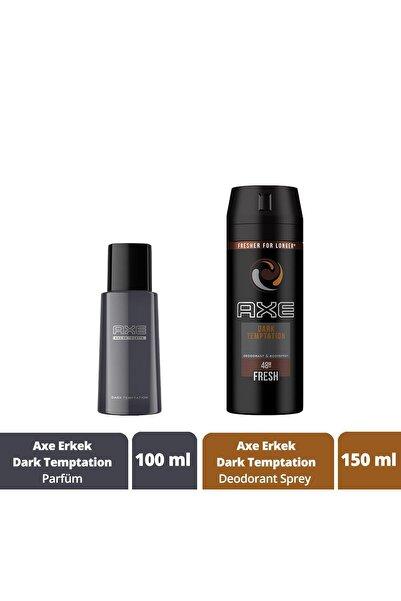 Axe Dark Temptation Edt 100 ml Erkek Parfüm + 150 ml Deodorant Sprey