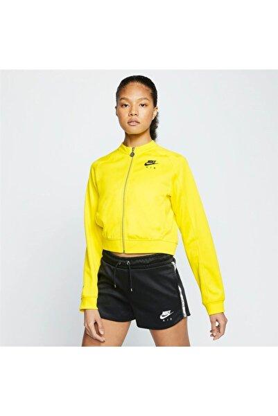 Nike Kadın Sarı Fermuarlı Ceket Cj3132 731