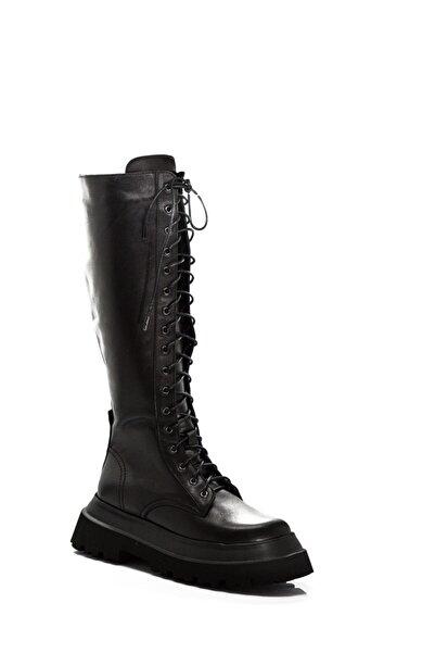 Dexter Kadın Siyah Çizme Kb20121-1