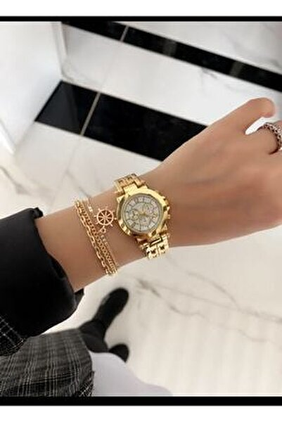 Bayan Klasik Çelik Vintage Kol Saati