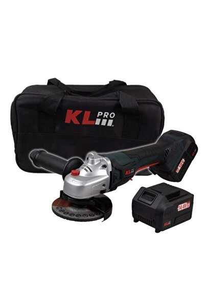KLPRO Klat1840b 18 Volt/4.0ah Li-ıon 115mm Kömürsüz Profesyonel Avuç Taşlama
