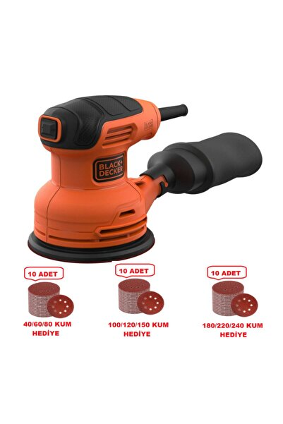 Black&Decker Black+decker Bew210 230watt Eksantrik Zımpara