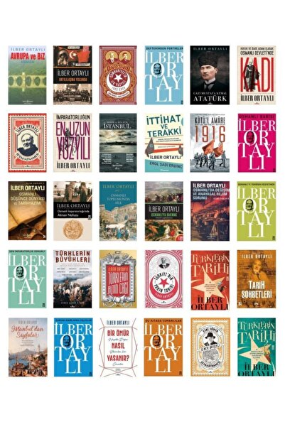 Kronik Kitap Ilber Ortaylı Seti 30 Kitap