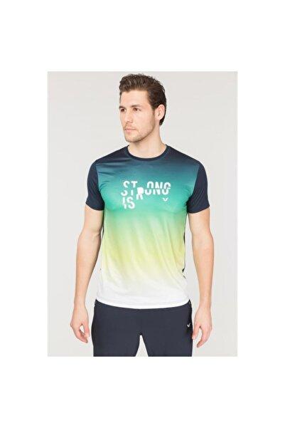 bilcee Erkek Lacivert Antrenman T-Shirt