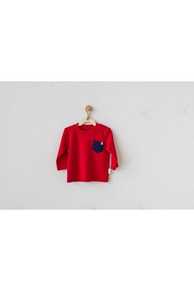 andywawa Erkek Bebek Kışlık Penye Uzun Kol T-shirt