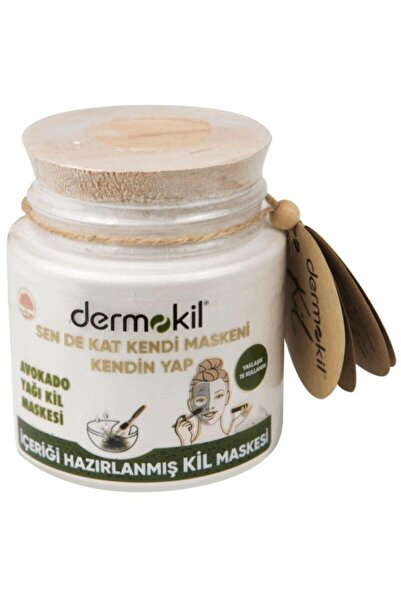 Dermokil Sende Kat Içeriği Hazırlanmış Saf Kil Avokado Özlü 220 ml