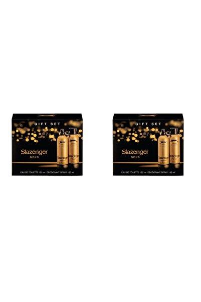 Slazenger Gold Parfüm Seti 2 Adet 125 Ml Edt 2 Adet 150 Ml