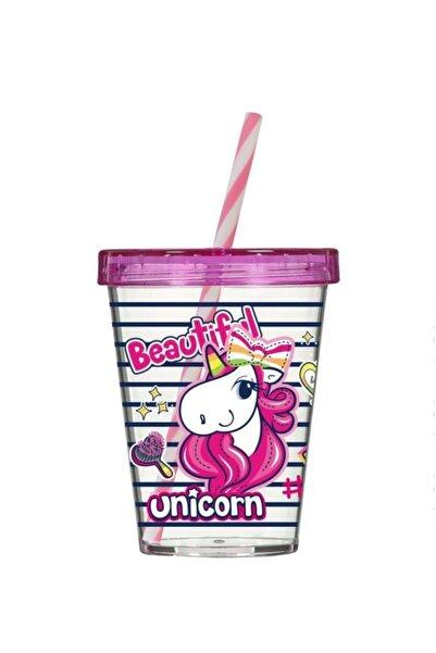 Herevin Unicorn Desen Pipetli Bardak