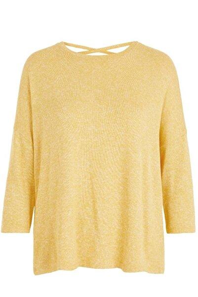 Vero Moda Kadın Sarı Brıanna Oversıze Bluz 10215347