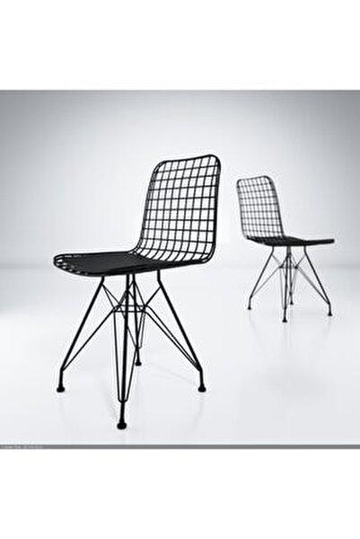 Kafes Tel Sandalyesi 1'li Mazlum Syhsyh Ofis Cafe Bahçe Mutfak