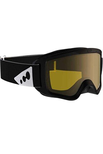 DOGASTR Kayak / Snowboard Gözlüğü - Yetişkin Siyah - Wedze Large Sıze