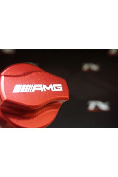 MERCEDES Benz Amg Logo Motor Yağ Kapağı Metal Kaplaması Yeni Ürün