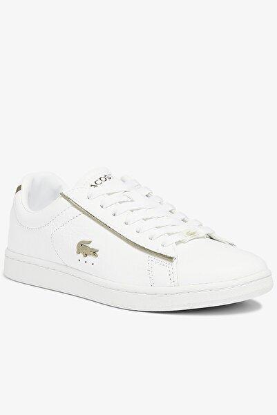 Lacoste Carnaby Evo 0721 3 Sfa Kadın Beyaz Sneaker 741SFA0032