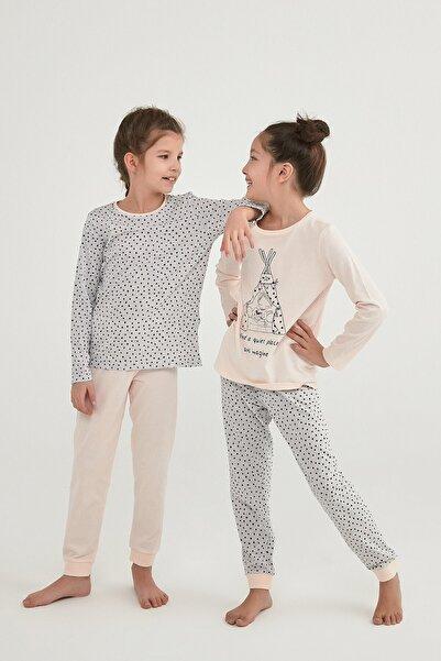 Penti Kız Çocuk Çok Renkli Imagıne Ls 4Lü Pijama Takımı