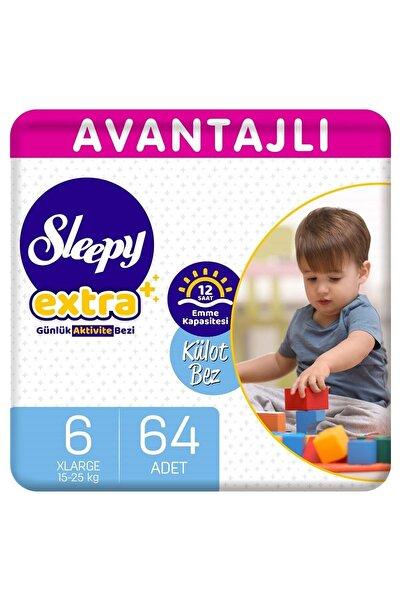 Sleepy Extra Avantajlı Külot Bez 6 Numara Xlarge 64 Adet