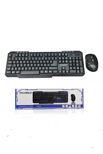 POLYGOLD Pg-8012 Kablosuz Mause-klavye Seti
