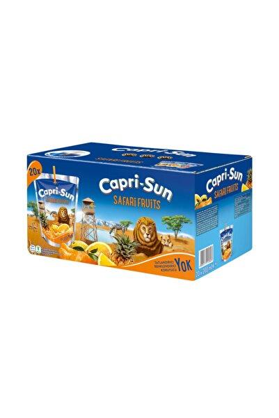 Capri - Sun Capri-sun Safari Fruits 200 Ml 20 Adet