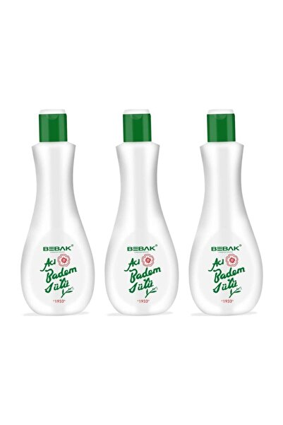 Bebak Acı Badem Sütü 3 X 215 ml