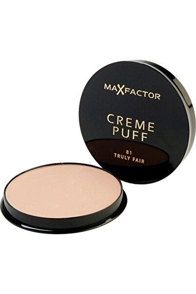 Max Factor Creme Puff 81 Truly Fair Fondöten