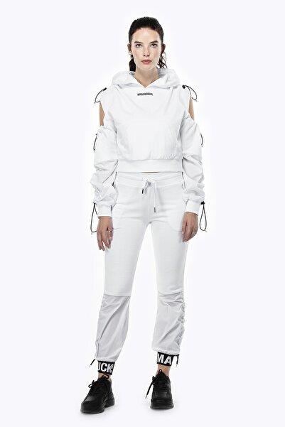 Ruck & Maul Kadın Örme Pantolon 21061 1000 - Beyaz