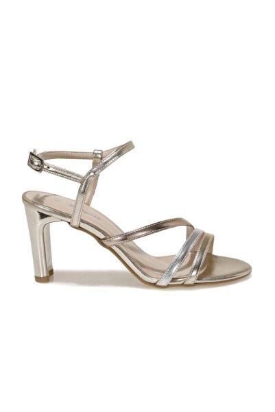 Polaris 317171.Z 1FX Altın Kadın Topuklu Sandalet 101012640