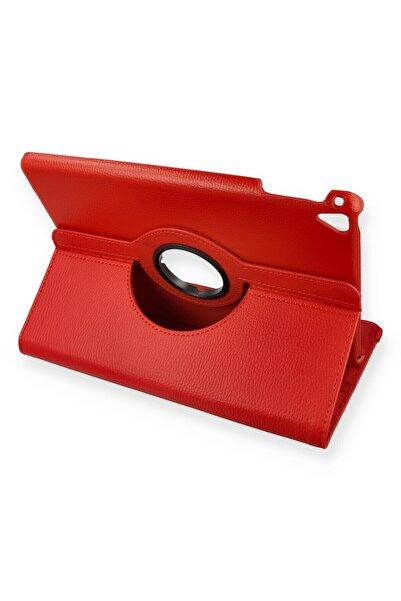 PHONACS Apple Ipad Air 1 - 2 A1474-a1475-a1476-a1566-a1567 Dönerli Tablet Kılıfı Kırmızı