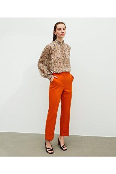 İpekyol Desenli Bluz