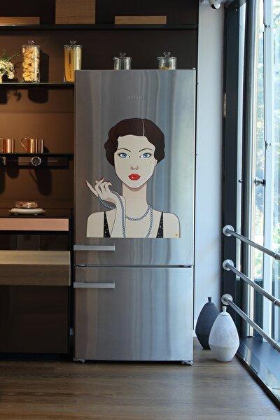 frideco Charlotte Büyük Boy Dekoratif Buzdolabı Magneti 58 Cmx74 Cm
