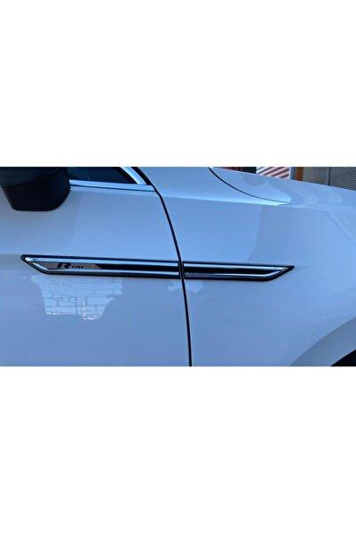 Momo Volkswagen Araçlara Özel Kampanyalı R Line Çamurluk Bıçağı 4'lü Set