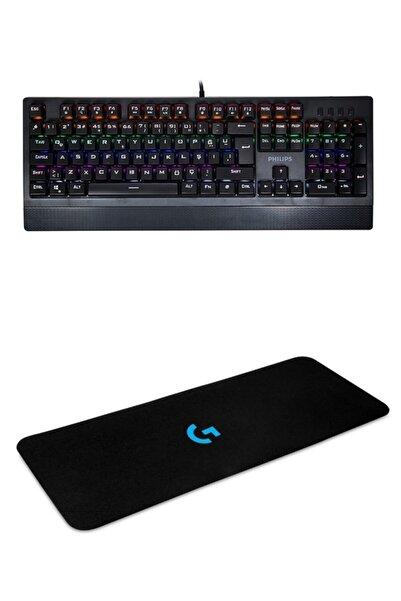 Philips Spk840 Rgb Aydınlatmalı Mekanik Gaming Oyuncu Klavyesi + Klavye Mouse Pad