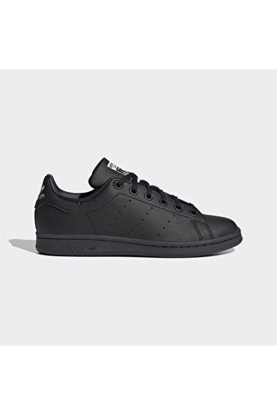 adidas Kadın Siyah Stan Smith J Spor Ayakkabı