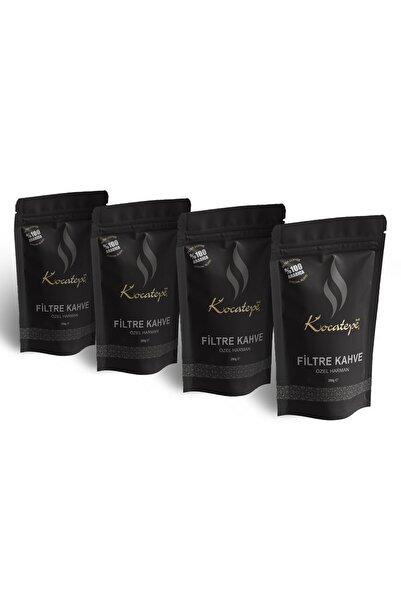 KOCATEPE KAHVE Filtre Kahve Özel Harman 250 Gr 4'lü Paket