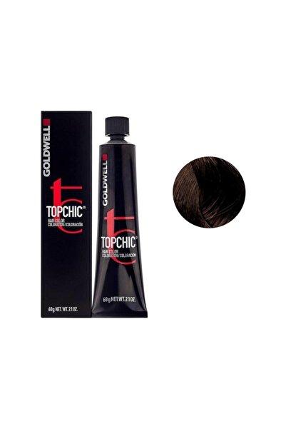 GOLDWELL Topchic Kalıcı Saç Boyası 60 Ml + Oksidan - 6a Açık Kül Kahverengi