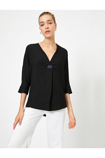 Koton Kadın Siyah Bluz