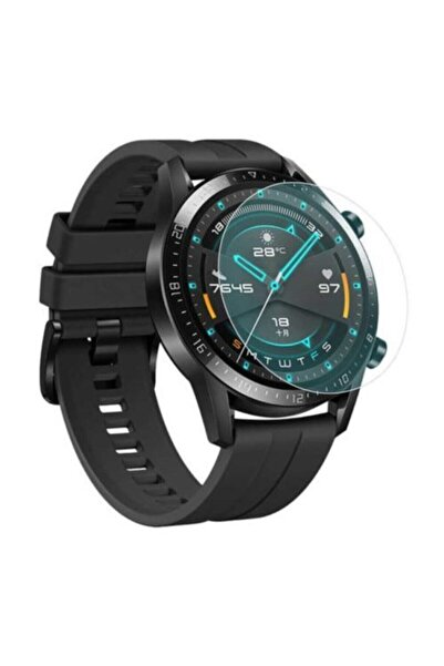 BlitzPower Huawei Watch Gt2e 46mm Nano Ekran Koruyucu 2 Adet