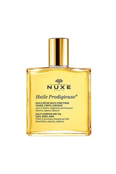 Nuxe Huile Prodigieuse - Çok Amaçlı Kuru Yağ (Yüz, Vücut, Saçlar) 50 ml