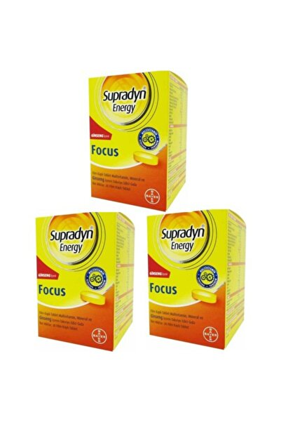 Supradyn Energy Focus 30 Tablet 3 Kutu