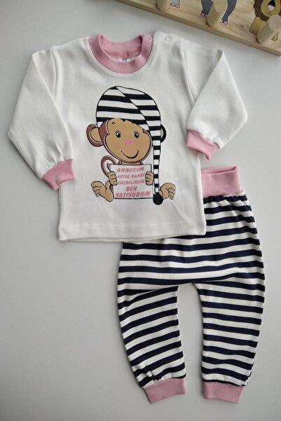 Bebek Exclusive Annecim Ben Uyuyorum Yazılı Bebek 2li Pijama Takımı