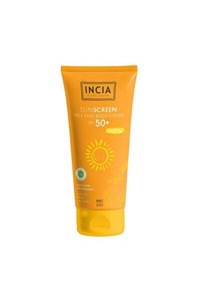 Incia Bebek Doğal Güneş Kremi 50 Spf 100 ml