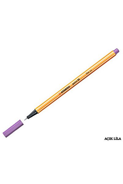 Stabilo Point 88 Ince Uçlu Kalem 0.4 Mm Açık Lila