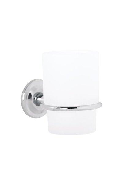 Eca Serel Banyo Lale Diş Fırçalığı Cam / Krom 140101003