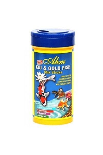 Asia Koi Goldfish Mix Pond Sticks Balık Yemi 250 ml